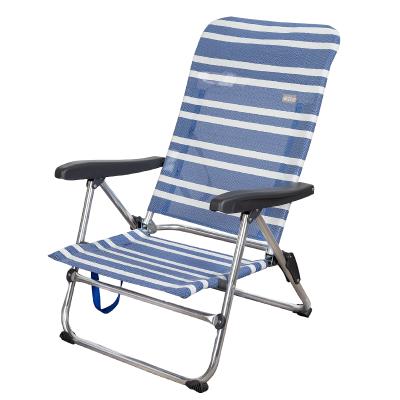 Cadeira dobrável 5 posições Aktive Azul