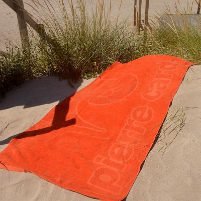 Toalha de Praia Laranja Pierre Cardin