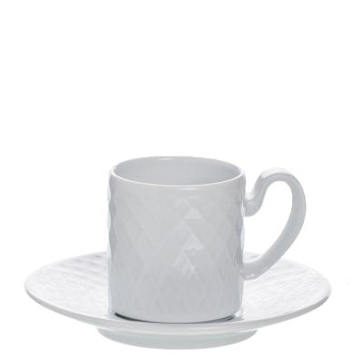 Chávena de café c/ pires porcelana