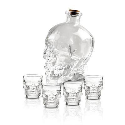 Conj. de garrafa com 4 copos