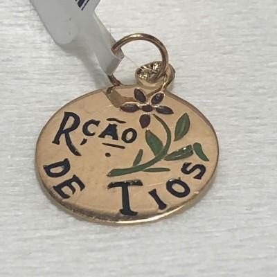 Medalha Ouro Lça Tios