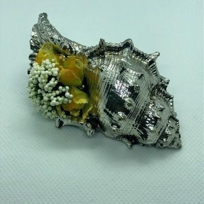 Boquet Biilaminado Prata