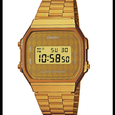 Relógio Cásio Dourado