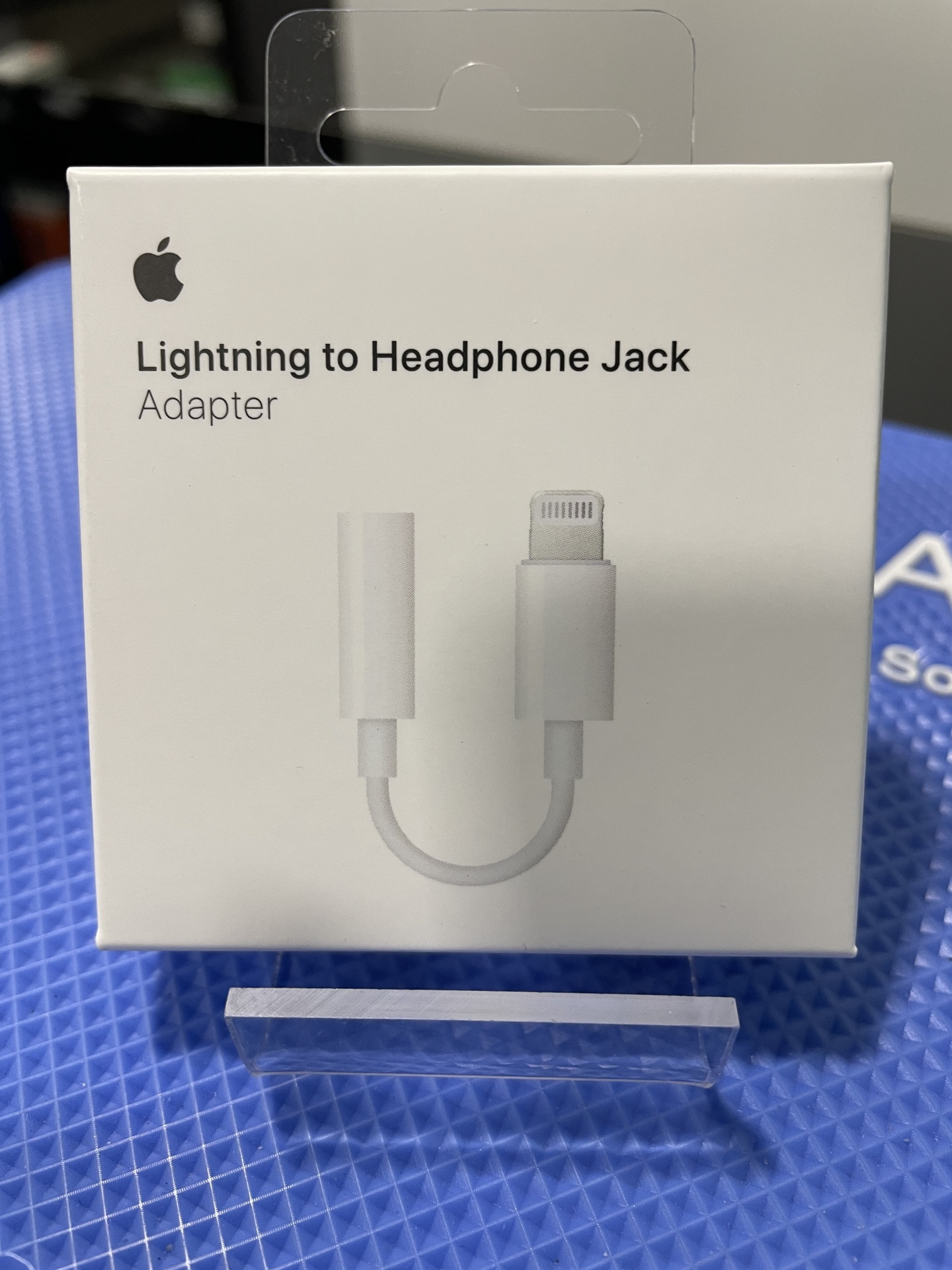 Adaptador jack para lightning